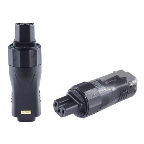 rhodium-plated R Furutech High-End grade 20A inlet plug FI-32