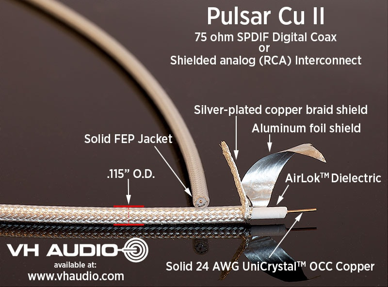 Audio Cables Parts And Tweaks For Audiophiles Vh Audio